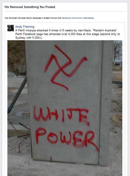 facebookswastika