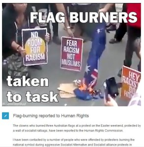 flagburners